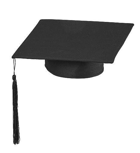 attraente e resistente rapporto qualità-prezzo metà prezzo WIDMANN Cappello da Laureato Tocco Dottore Travestimento Laurea Diploma  Accademia