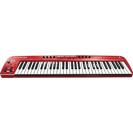 Behringer U-CONTROL UMX610 teclado MIDI USB 61 teclas