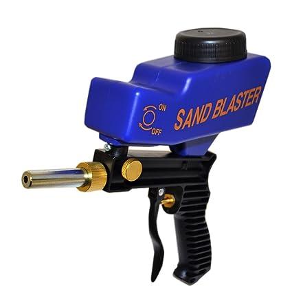 pot air sandblaster kit grit s sand blaster rust paint remover ...