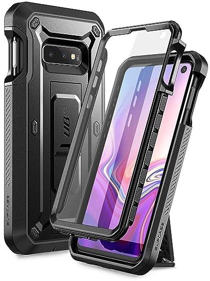 d6d2cf83172 SUPCASE Funda Samsung Galaxy S10e Case con Protector de Pantalla Incluido y  Clip para Cinturon Giratorio