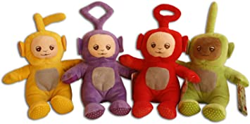 Teletubbies Pack 4x Peluches Set Tinky Winky Dipsy Laa-Laa Po 25cm ...