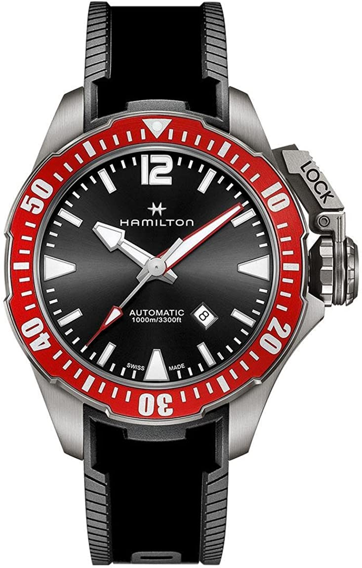 Hamilton H77805335 - Reloj automático para Hombre, Color Azul Marino