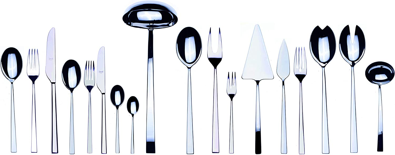 specialty shop Mepra Latest item 151-Piece Atena Set Serving