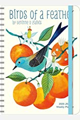 "Geninne Zlatkis 2020 - 2021 On-the-Go Weekly Planner: 17-Month Calendar with Pocket (Aug 2020 - Dec 2021, 5"" x 7"" closed): Birds of a Feather Calendar"