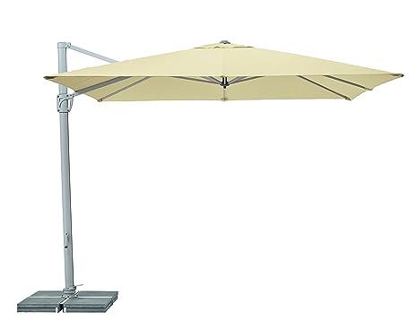 Glatz Ombrelloni Prezzi.Suncomfort By Glatz Ombrellone Sunflex 300 X 300 Cm Amazon