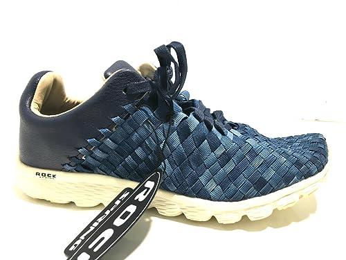 Scarpe Intrecciato Rock Allacciata Spring Uomo Sneaker W Us16rs03 Navy W9YD2HIE
