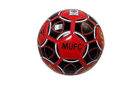 Rhinox Manchester United FC tamaño 2 balón de fútbol - 001: Amazon ...