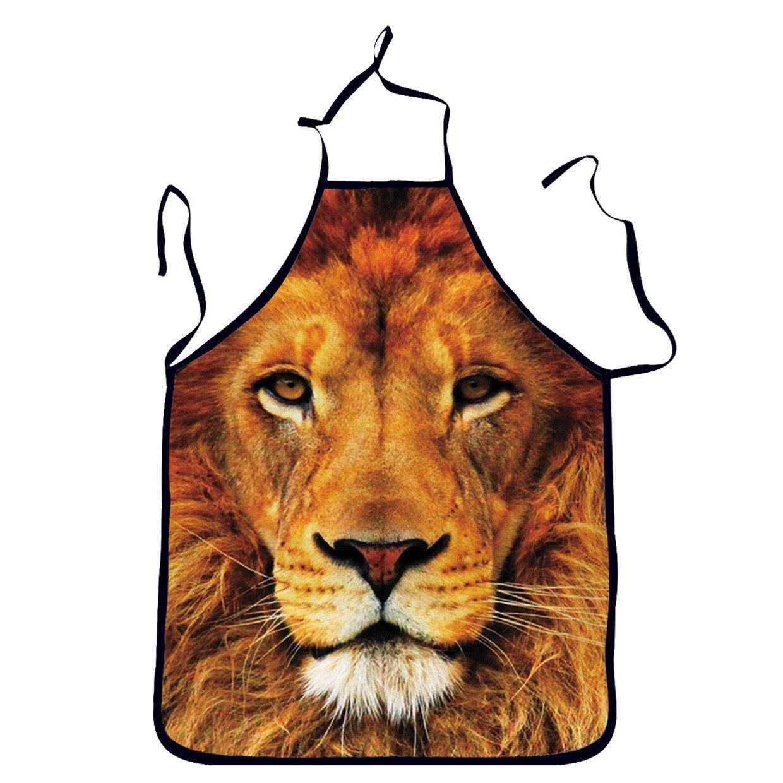 Niyatree Wild Lions Aprons For Husband Boyfriend