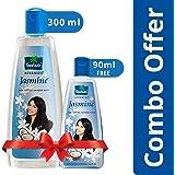 Parachute Advansed Jasmine Coconut Hair Oil, 300 ml with Free 90 ml Pack
