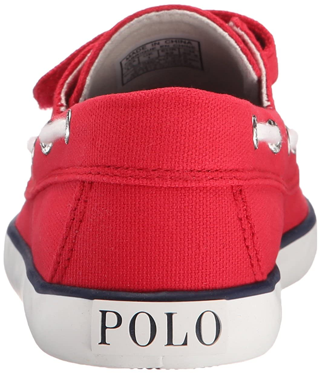 Polo Ralph Lauren Kids Sander EZ R Canvas N PP Fashion Sneaker SANDER EZ RED CANVAS Toddler//Little Kid NAVY PP K
