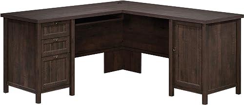 Sauder Costa L-Shaped Desk - a good cheap home office desk