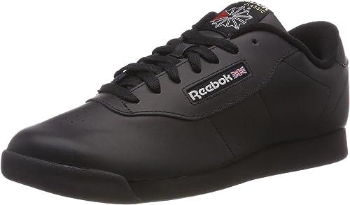 Reebok Damen Princess Wide Fitnessschuhe, Schwarz (Black 000