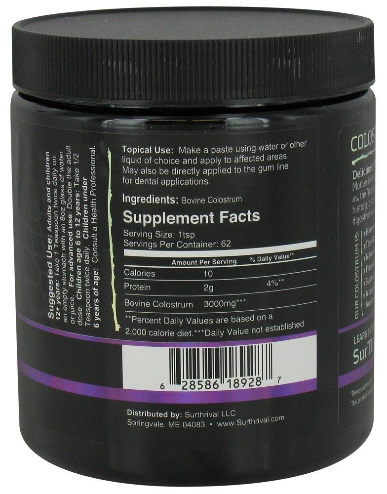 Surthrival Colostrum Powder 6.5oz