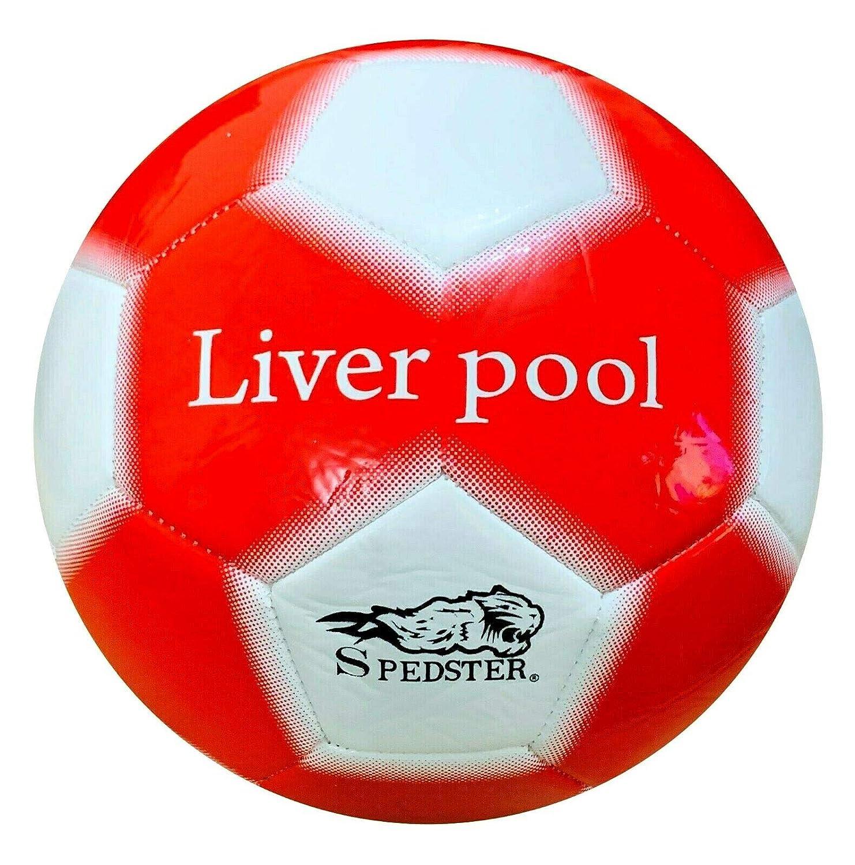 Spedster Liverpool - Balón de fútbol, tamaño 5,4, Incluye Bolsa de ...