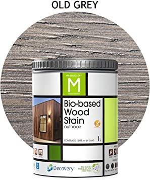 Barniz Madera Exterior   Bio-based Wood Stain   1L   para todo ...