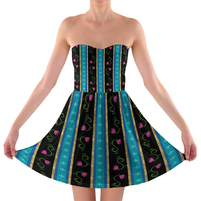Ice Princess Anna Dress Strapless Bra Top Dress
