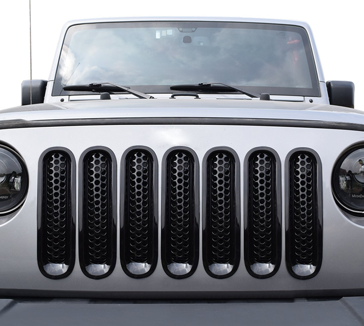 APS for 2018-2019 Ford F-150 Lower Bumper Black Grille Insert #N19-H10466F