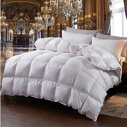 heavy king size comforter Amazon.com: ZF Luxurious Heavy Goose Down Comforter Queen King  heavy king size comforter