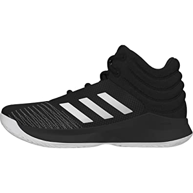 online store 86eba 5c2aa adidas Boys Kids Basketball Shoes Pro Spark 2018 Running Training AH2644  Black (EU 35 -