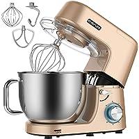 Staande Mixers, CHeflee 1800W Elektrische Keukenmachine-Mixer Keukenrobot voor Bakken, met 7,2L Roestvrijstalen Mengkom…