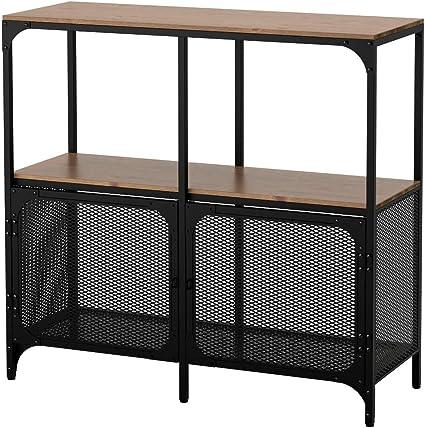 IKEA ASIA FJALLBO Estantería Negro: Amazon.es: Hogar
