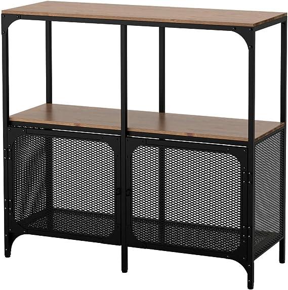 IKEA ASIA FJALLBO - Estantería, color negro: Amazon.es: Juguetes y juegos