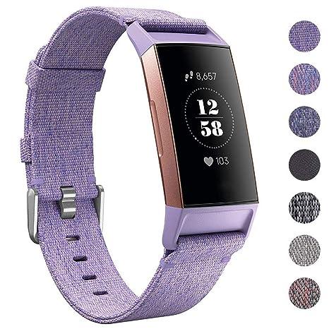 CAVN Compatible avec Fitbit Charge 3 Bracelet Sangles ...