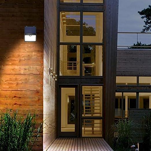 LED Solarleuchte alpha ideen für gartenleuchten modern mit bewegungsmelder