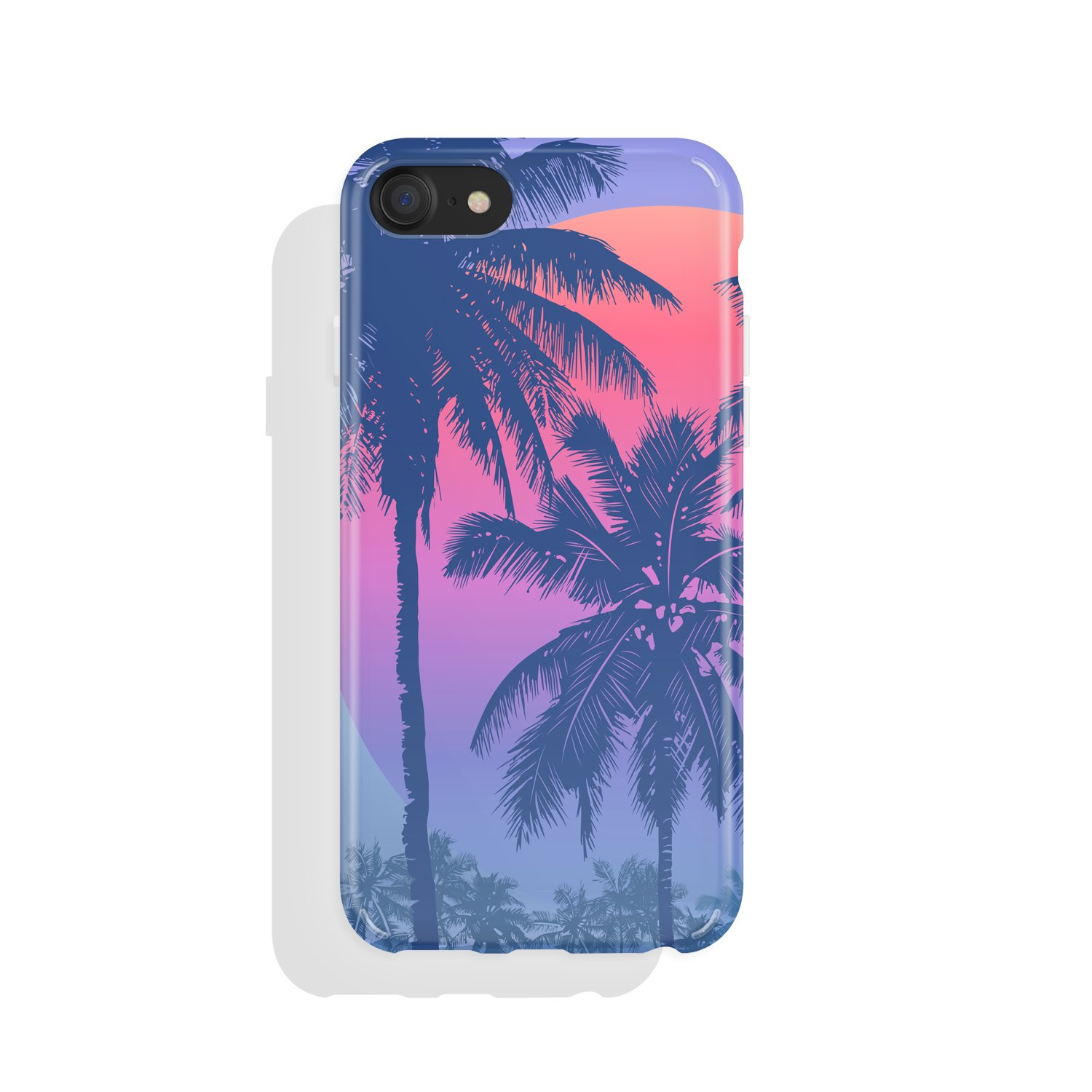 iPhone 8 & iPhone 7 Case for girls, Akna Charming Series High Impact Silicon Cover with HD Graphics for iPhone 8 & iPhone 7 (101276-U.S)