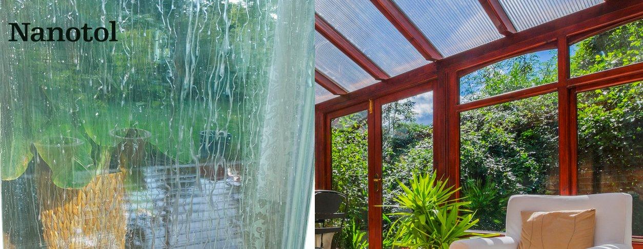 Nanotol Juego de limpieza del hogar con efecto lotus, juego de sellado nano con protector y limpiador para ventanas, para la cocina, para muebles, ...