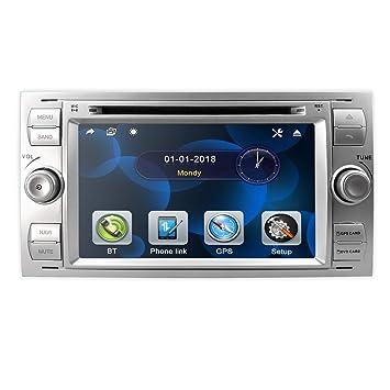hizpo Double DIN 7 Pulgadas Radio de Coche Navegación GPS ...