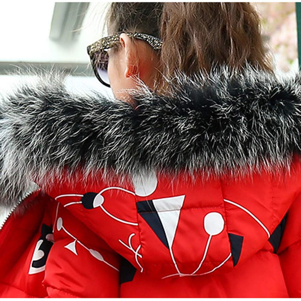 Sannysis Mantel Winter f/ür 3-8 Alter Kinder Jungen M/ädchen Cartoon Jacke Warme Steppjacke Coat Kapuzenmantel Baby Daunenjacken Winterjacke Verdickte Jacket Outerwear