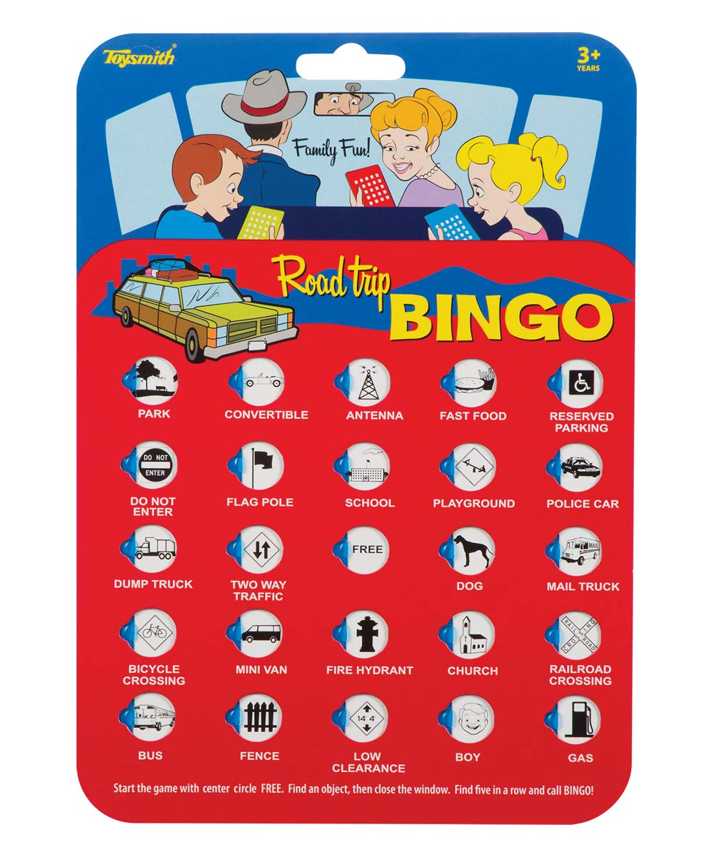 4 Pack Toysmith 9173 Road Trip Bingo Assorted Colors