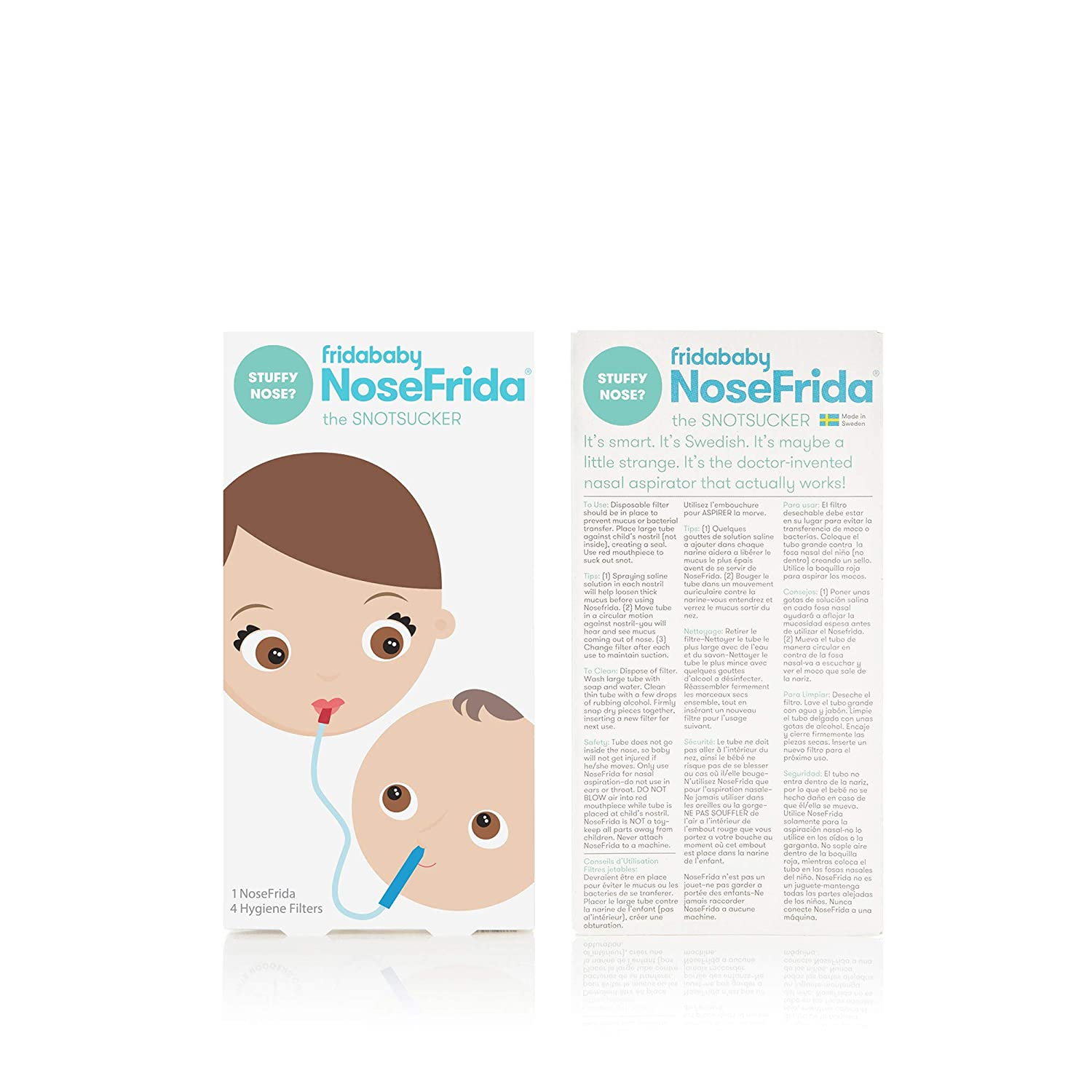 Cold and Flu NoseFrida Bundle- 5 Items by Frida Baby