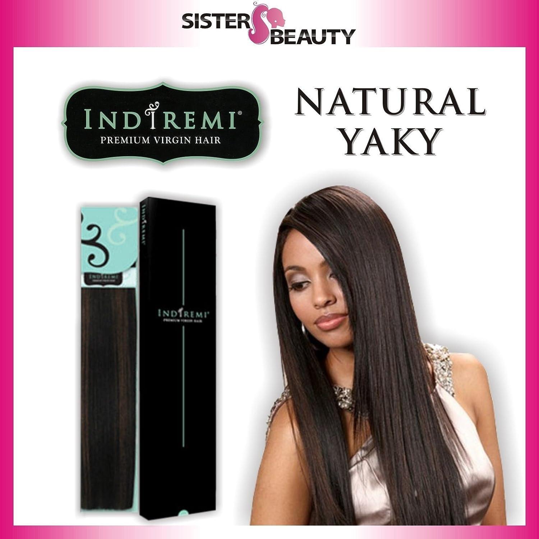 Amazon Indi Remi Natural Yaki 12 2 Hair Extensions Beauty
