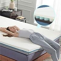 Bedsure 4-in Queen Memory Foam Spring Mattress Topper