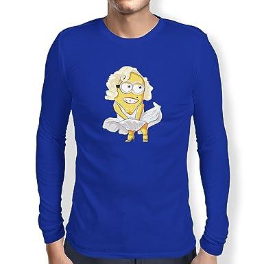 Texlab Banana Monroe - Herren Langarm T-Shirt, Größe S, Marine