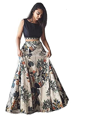 Subham Creation Gowns For Women Party Wear Lehenga Choli For