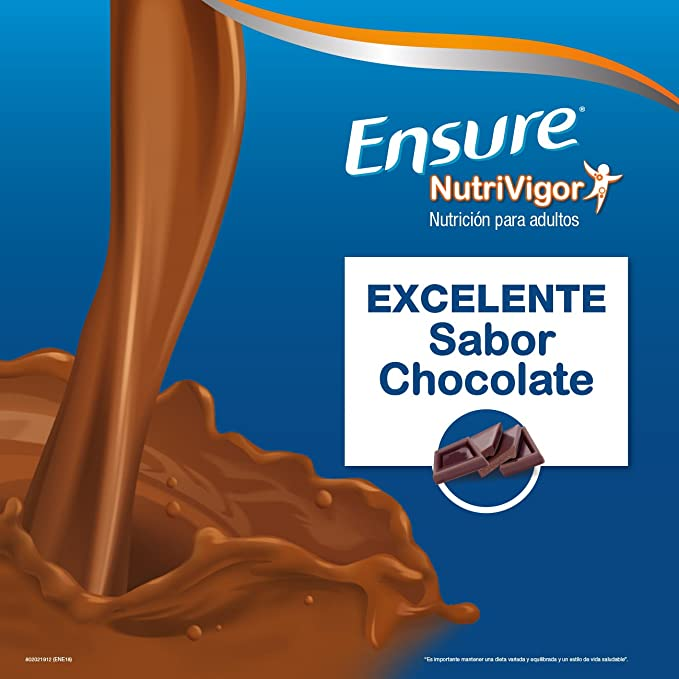Ensure Nutrivigor sabor chocolate 850g - complemento alimenticio con proteínas, vitaminas, minerales y CaHMB*: Amazon.es: Salud y cuidado personal