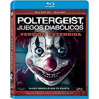 Poltergeist: Juegos Diabólicos (BR + 3D) [Blu-ray]