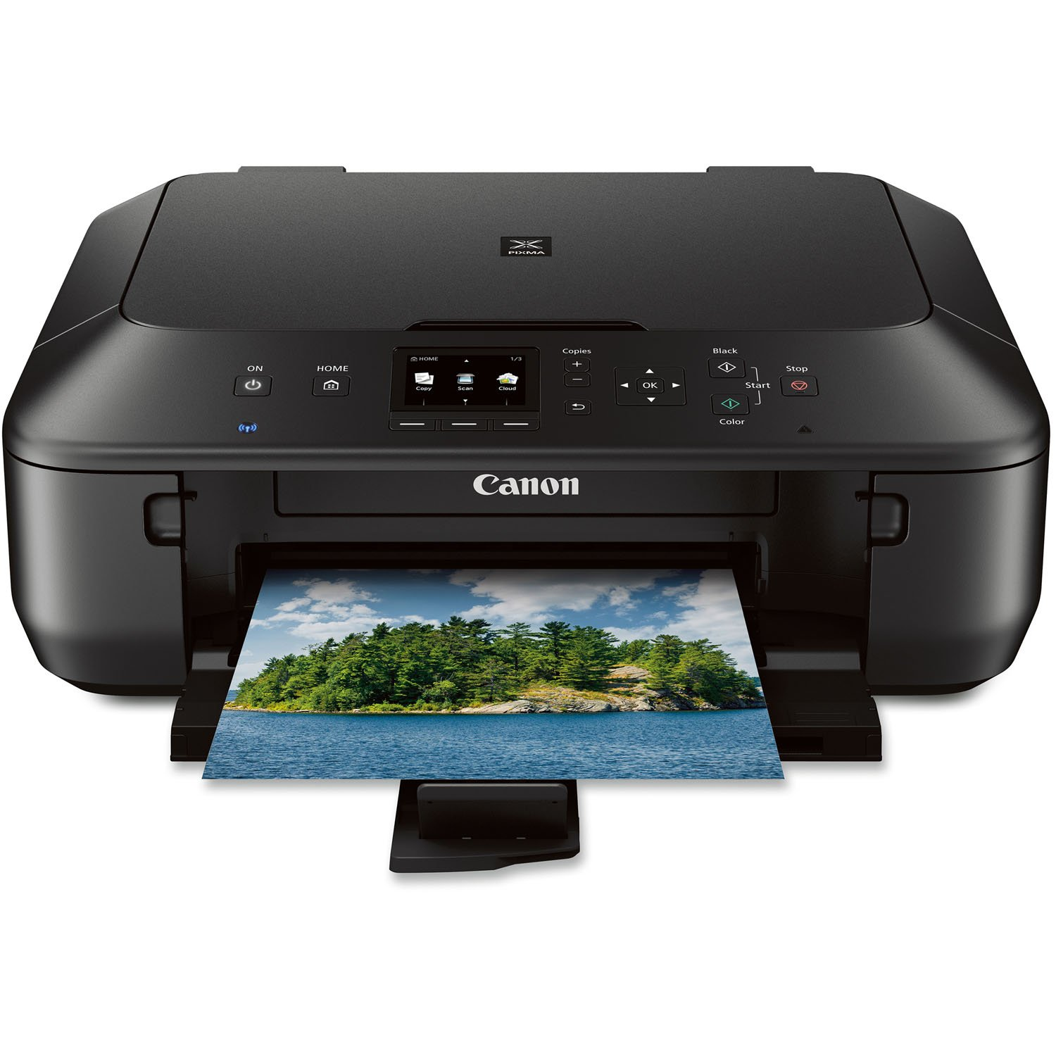 Amazon Canon PIXMA Color Printer MG5520 Discontinued By Manufacturer Electronics
