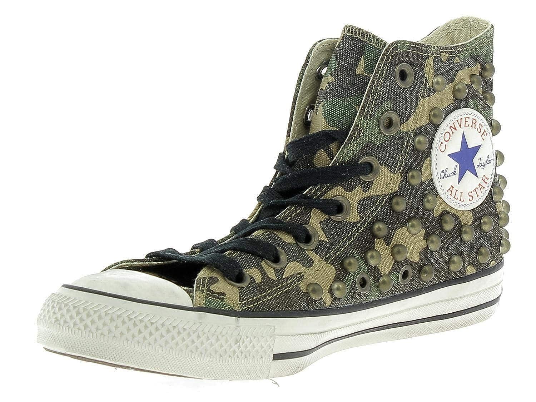 Converse Scarpa Chuck Taylor All Star Hi Camouflage Borchie