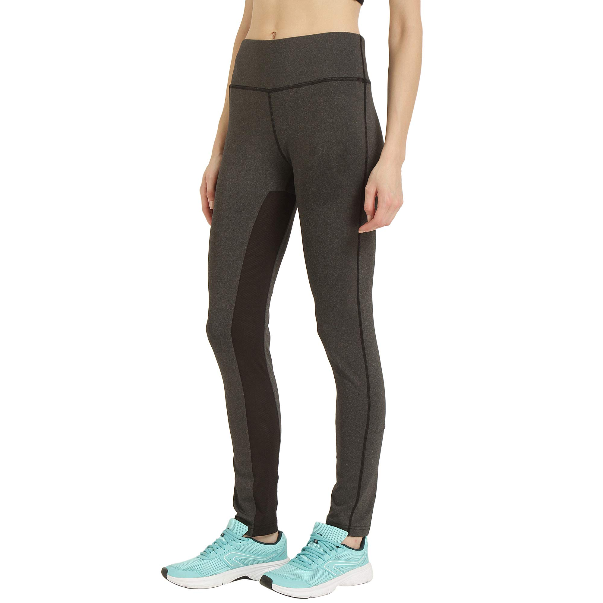 9ee4d2fe6abe2 CHKOKKO Solid Yoga Sports Stretchable High Waist Track Yoga Pant for Womens  product image