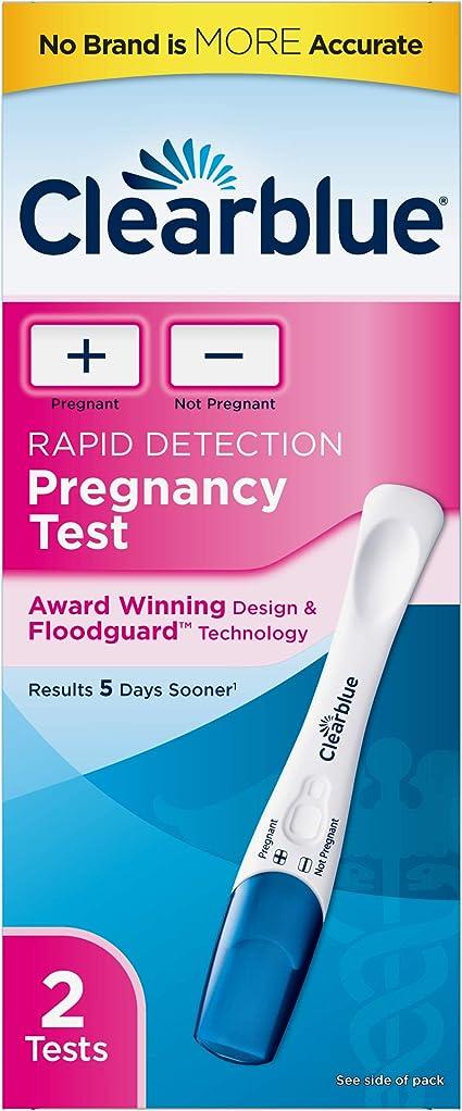 Amazon Com Clearblue Rapid Detection Pregnancy Test 2 Count