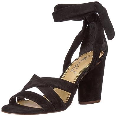 54c435b153d7 Splendid Women s Fergie Heeled Sandal Black 5.5 Medium US