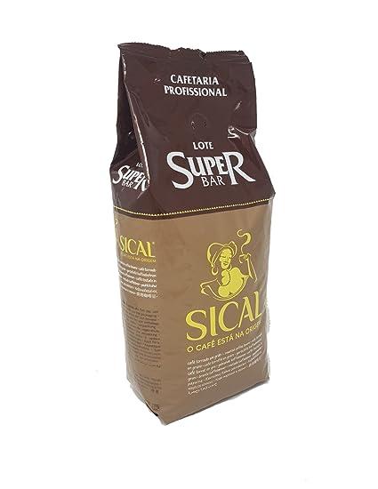 Sical profesional - granos de café Lote Super Bar Portugués asados 1kg por Nestlé