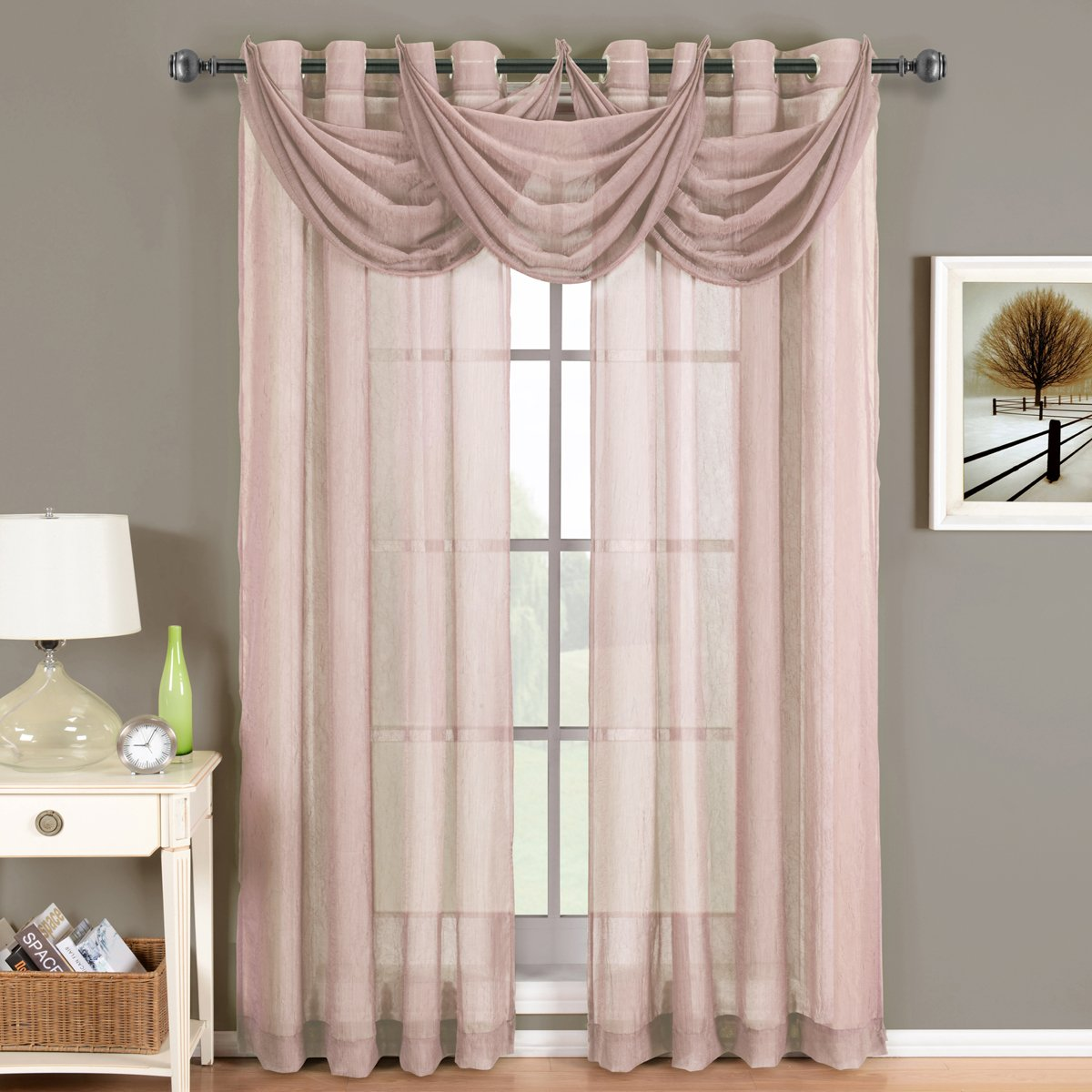 curtains nursery panels and gold blush pink walmart of for dusty curtain full rose size bedroom white