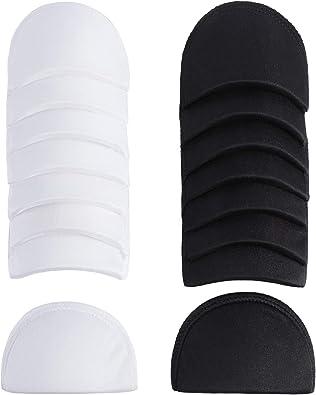 Dritz 53078-1 Shoulder Pads Covered Set-in 1//2-Inch Black