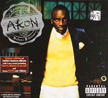 AKON - Konvicted (Deluxe Edition w/DVD) - Amazon com Music