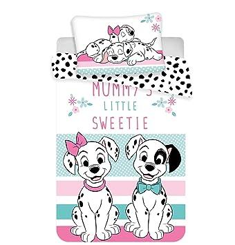 Kinderbettw/äsche Disney III 2-teilig 100/% Baumwolle 40x60 Marie Cat 100x135 cm mit Rei/ßverschluss